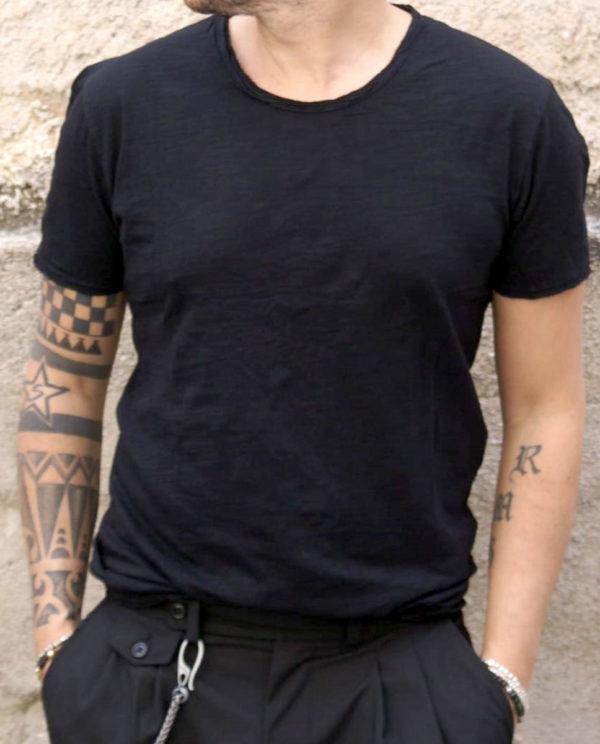 tshirt basic nera