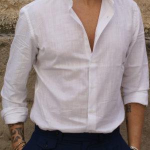 Camicia cotone ultralight bianca