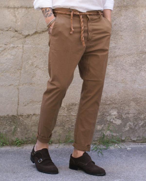Pantalone capri slim