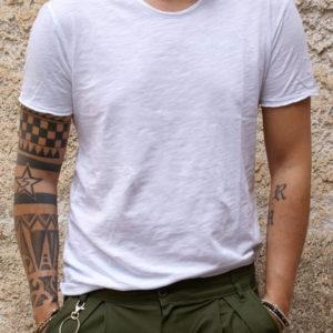 Tshirt basic bianca