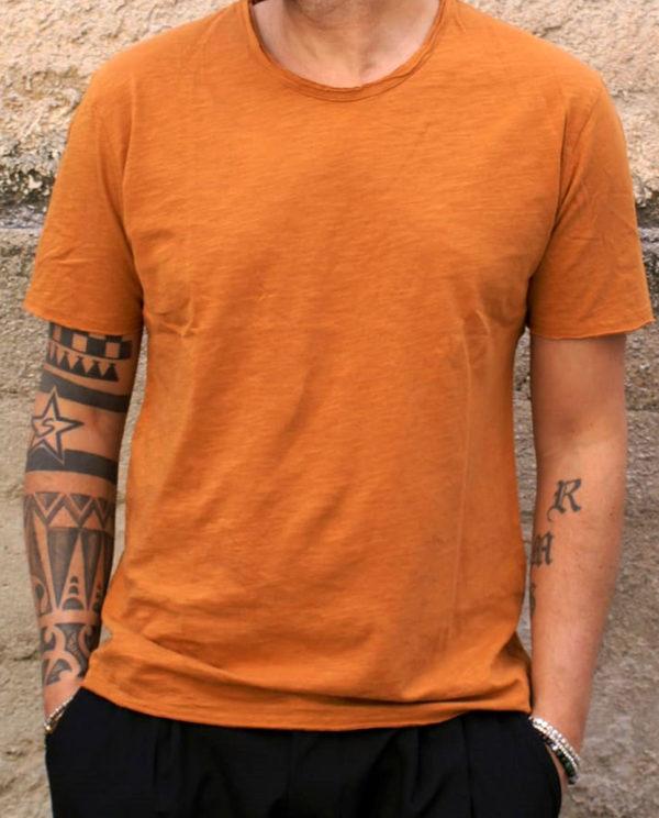 T-shirt basic ocra