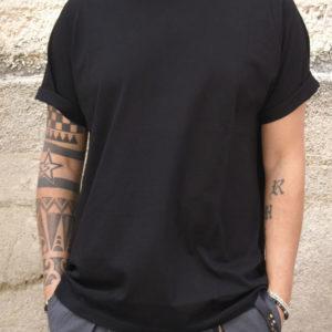 Tshirt oversize nera