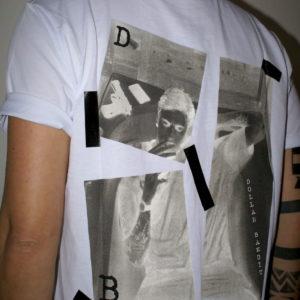 Tshirt bianca Dollar Bandit