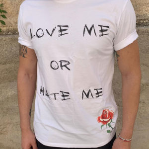 Tshirt Rebirth bianca love me or hate me