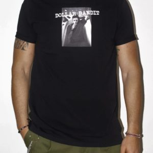 Tshirt nera Dollar Bandit