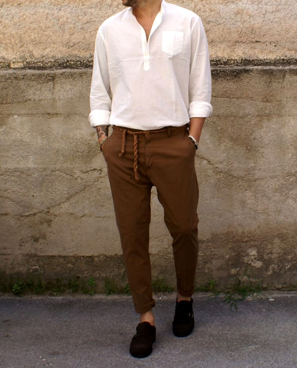 outfit camicia pantalone
